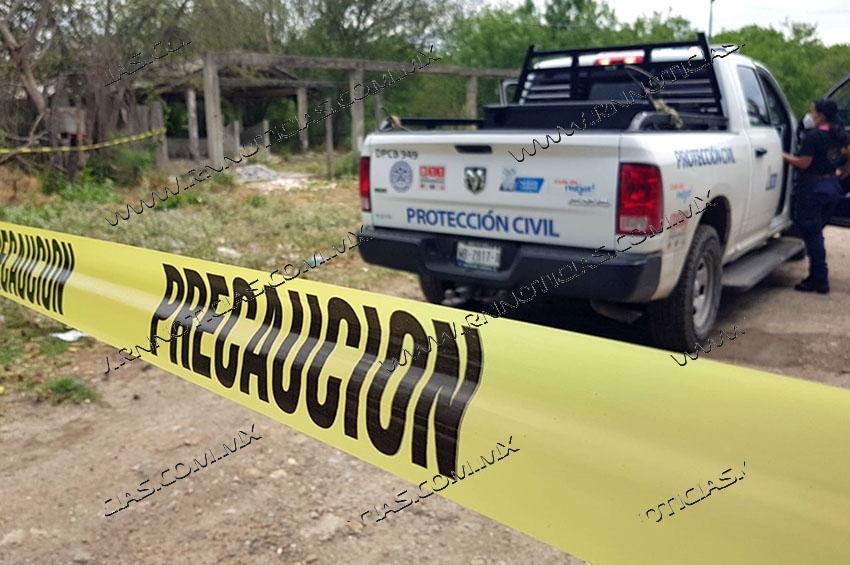 Localizan cuerpo putrefacto en finca abandonada en Nuevo Laredo