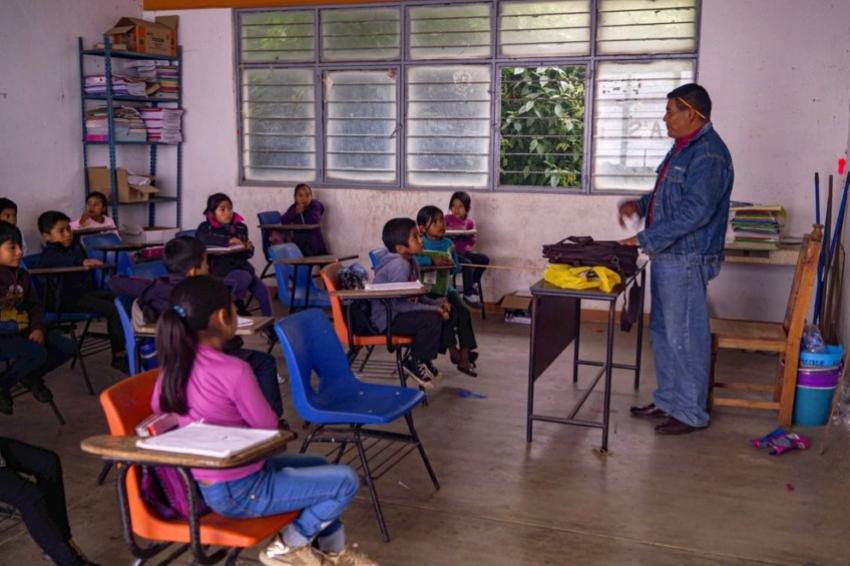 VACUNARÁN EN TAMAULIPAS A MAESTROS CONTRA EL COVID-19