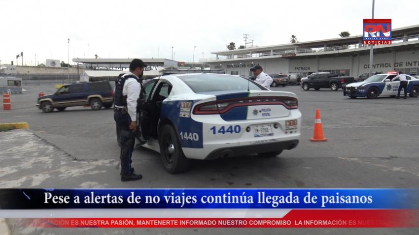 VIDEO Pese a alertas de no viajes continúa llegada de paisanos