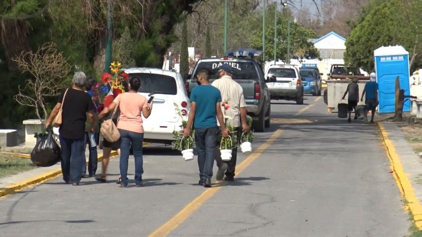 VIDEO Panteones estarán abiertos el Día de muertos en Nuevo Laredo