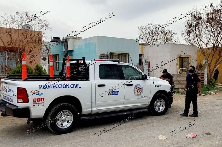 Encuentran cadáver putrefacto en casa de Nuevo Laredo