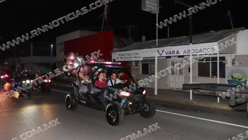 RODADA ROSA, BIKERS Y GOBIERNO EN LA LUCHA CONTRA EL CÁNCER