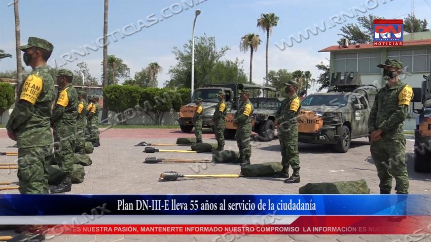 VIDEO Plan DN-III-E lleva 55 años al servicio de la ciudadanía