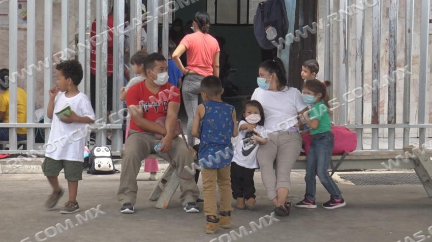 Migrantes varados en Nuevo Laredo representan riesgo de salud
