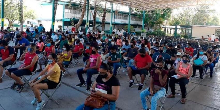 Cerrará octubre con 80% de vacunados en Tamaulipas