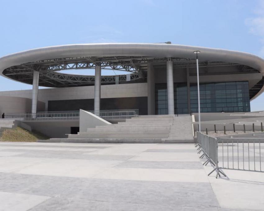En últimos detalles el Centro de Convenciones en Reynosa