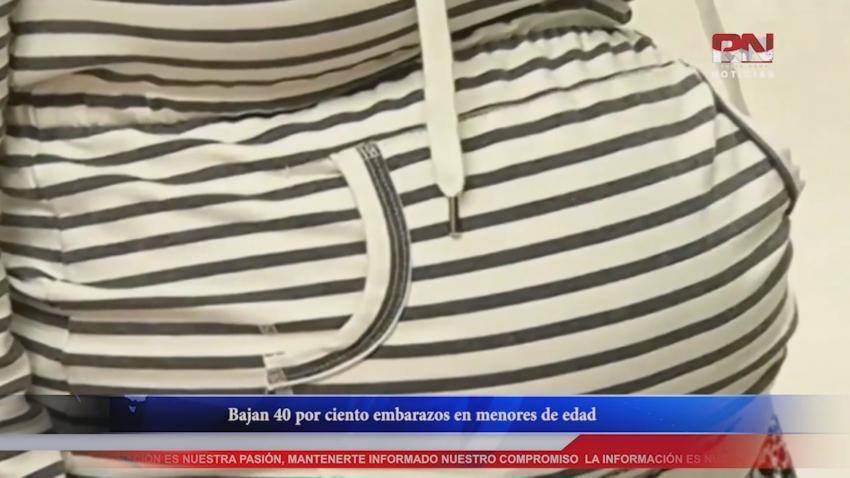 VIDEO Bajan 40 por ciento embarazos en menores de edad