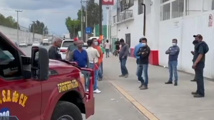VIDEO No hay afectaciones en distribuidoras de gas tras huelga en México
