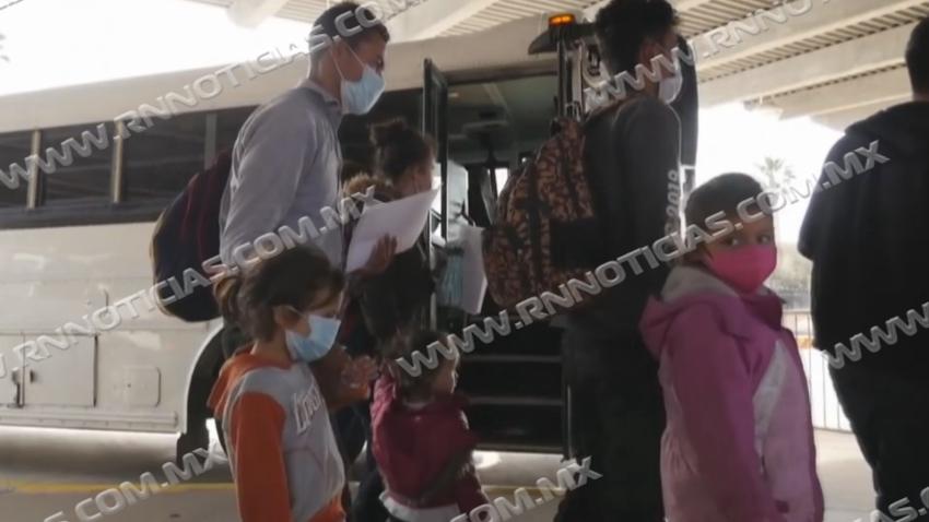 Continúa DIF en apoyo de familias migrantes extranjeras y menores