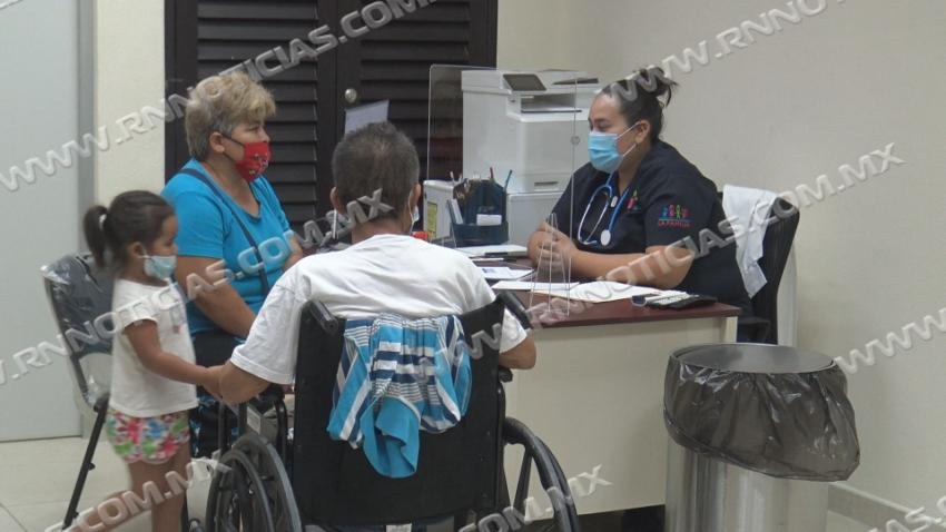 Realiza DIF brigada médica en la colonia el Campanario