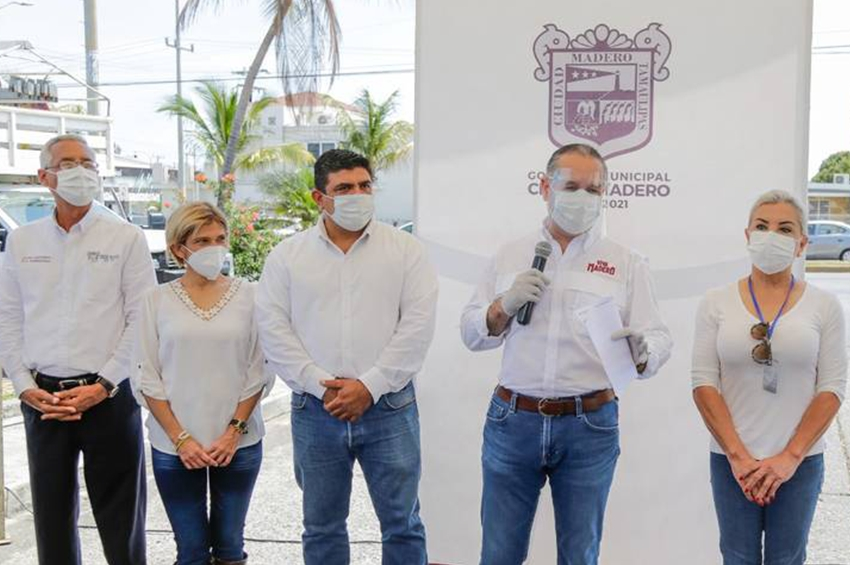 Gobierno de Ciudad Madero refuerza acciones a favor de la imagen urbana