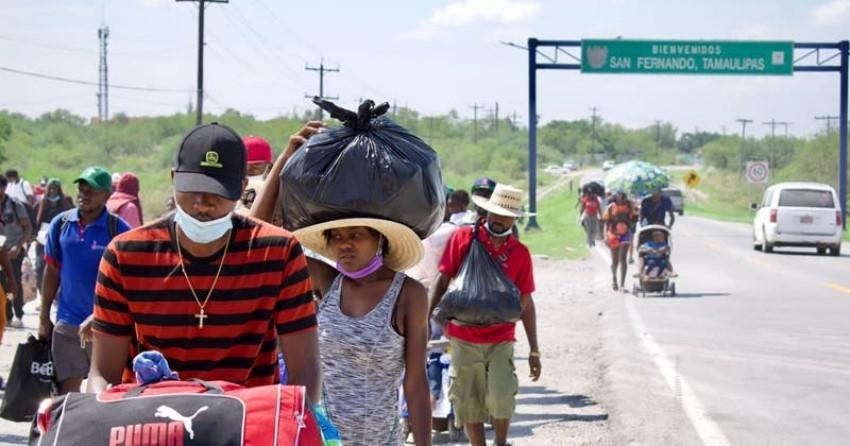 Apoyan colectivos a los inmigrantes haitianos