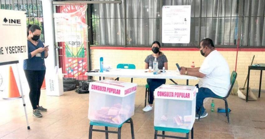 Baja participación de tamaulipecos en Consulta Popular