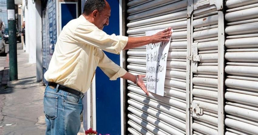Deja pandemia cierres y negocios en bancarrota
