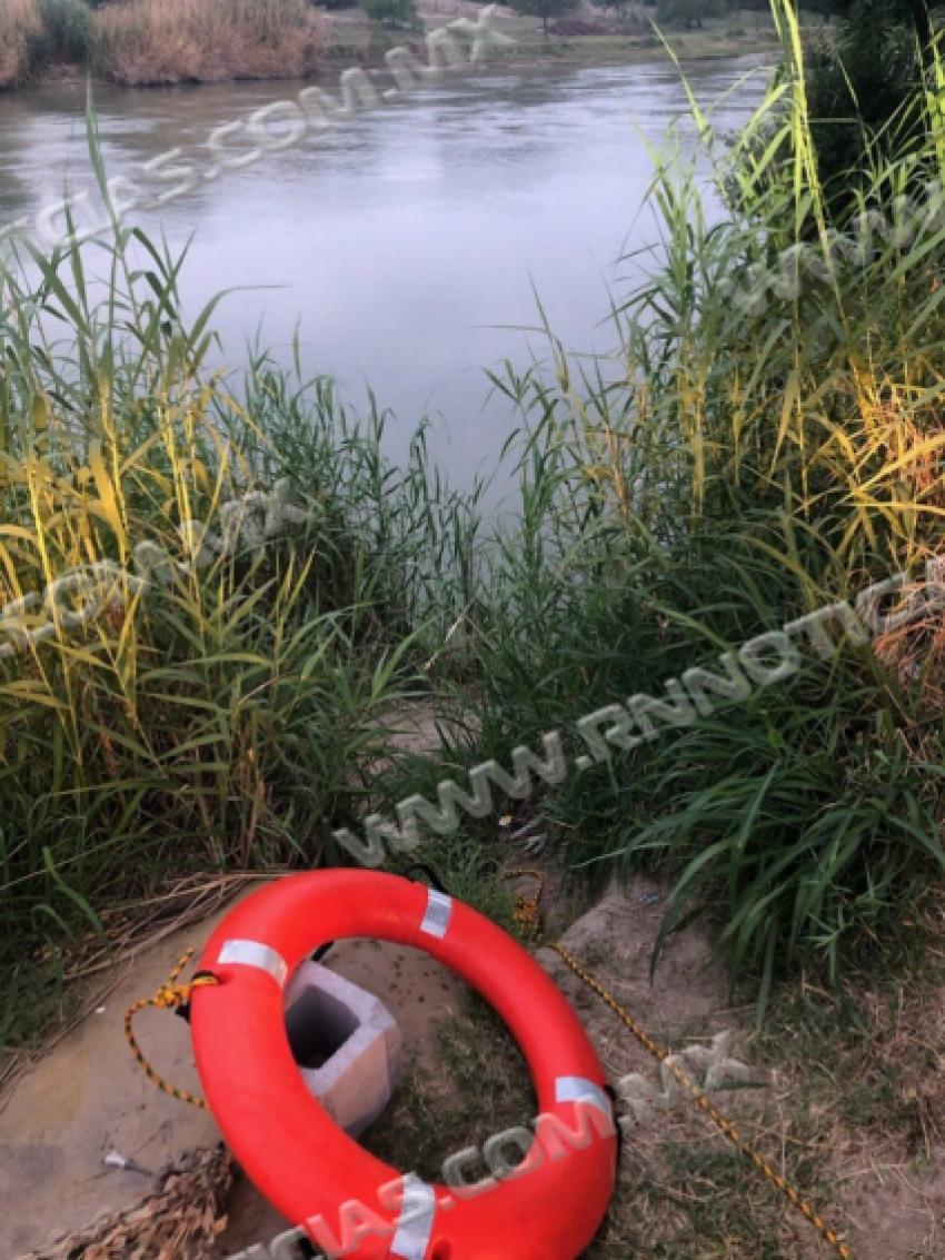 Soldados estadounidenses y patrulla fronteriza del sector de Laredo rescatan a dos en río Grande