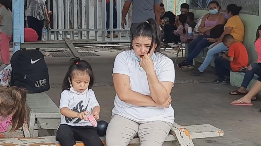 Video Migrantes varados en Nuevo Laredo representan riesgo de salud